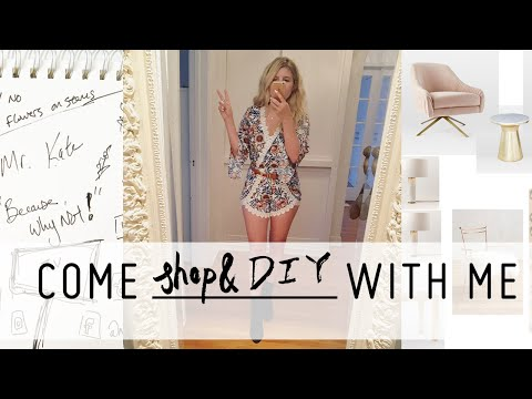 Come Shop Bedroom Interior Design & DIY A BeautyCon Booth with Me! | Shopping Vlog | Mr Kate