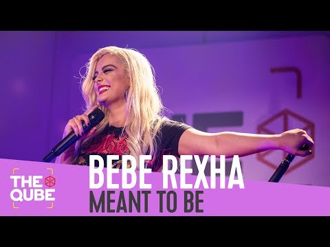 Bebe Rexha - 'Meant To Be' (live in the Qube)