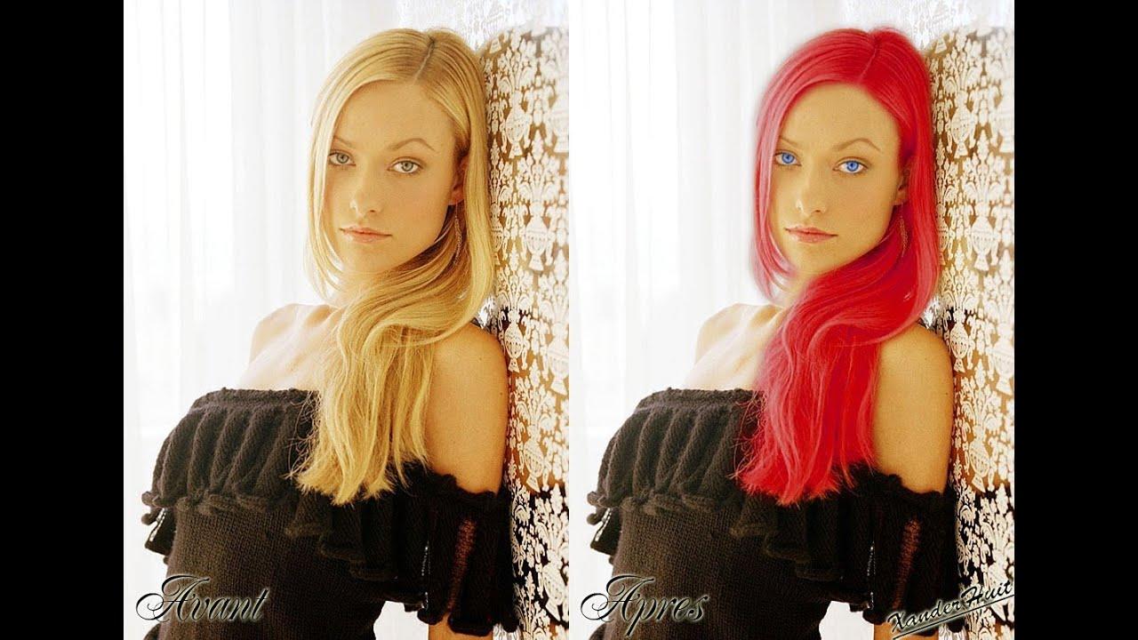 Comment changer la couleur de cheveux