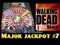 **MAJOR JACKPOT** The WALKING DEAD slot machine MAX BET HUGE BONUS WIN!