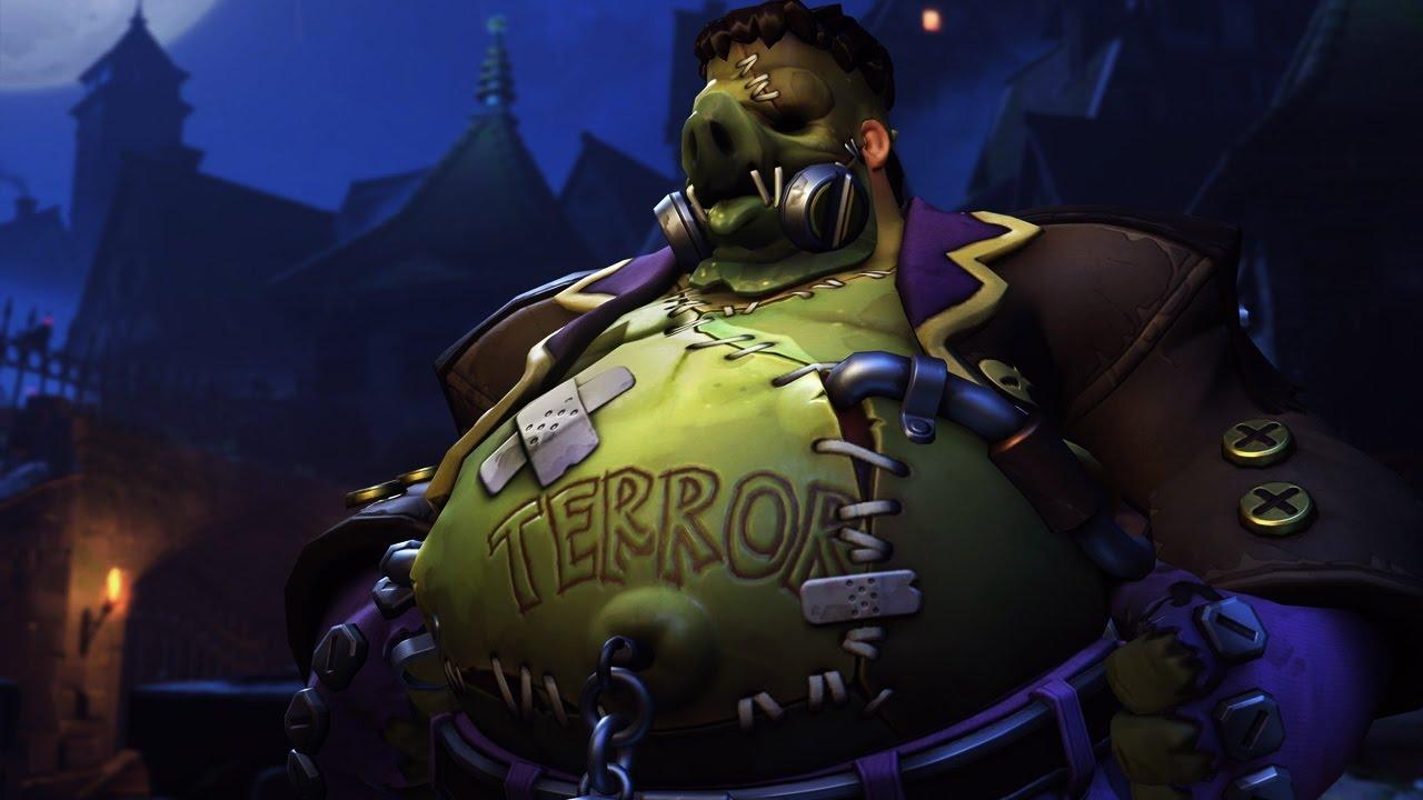 Roadhog Junkensteins Monster Overwatch Halloween