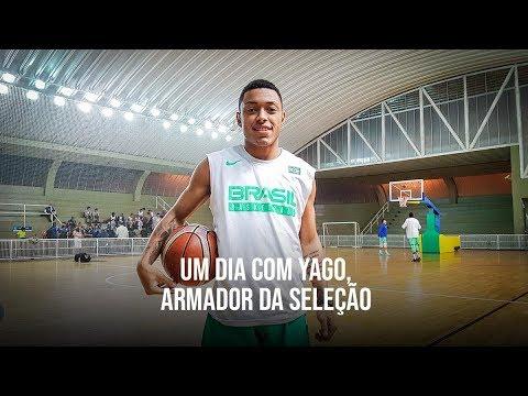 Um dia com Yago, Armador da Seleção Brasileira de Basquete