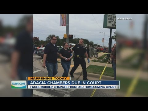 Adacia Chambers Due In Pre-trial Hearing Today