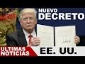 EEUU, TRUMP FIRMA NUEVO DECRETO, TRUMP ELIMINA LAS POLITICAS DEL CAMBIO CLIMATICO 29/03/2017