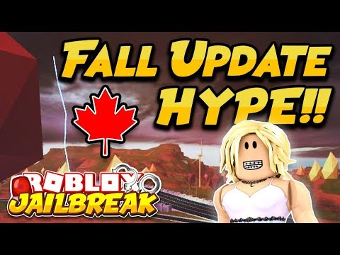 NEW FALL UPDATE HYPE!! 🍁 (Roblox Jailbreak) | NEW MAP AND STORE CHANGES!! | 🔴 ROBLOX LIVE