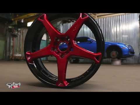 Chrysler Crossfire (deneb Star) Powder Coating Wheels
