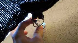 Como poner media sombra o colocacion de tela sombreada shade cloth