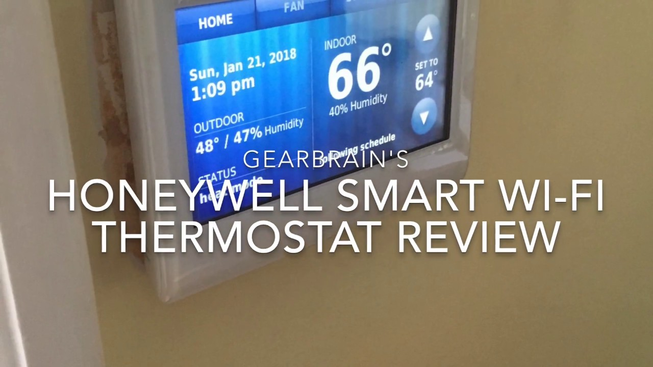 Review of Honeywell Smart Wi-Fi Thermostat for Smart Homes