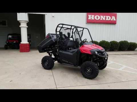 2017 Honda Pioneer 700 Walk-Around + Start Up Video | Red | Review @ HondaProKevin.com