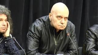 Пресконференция на Слави Трифонов по повод сваленото от бТВ предаване
