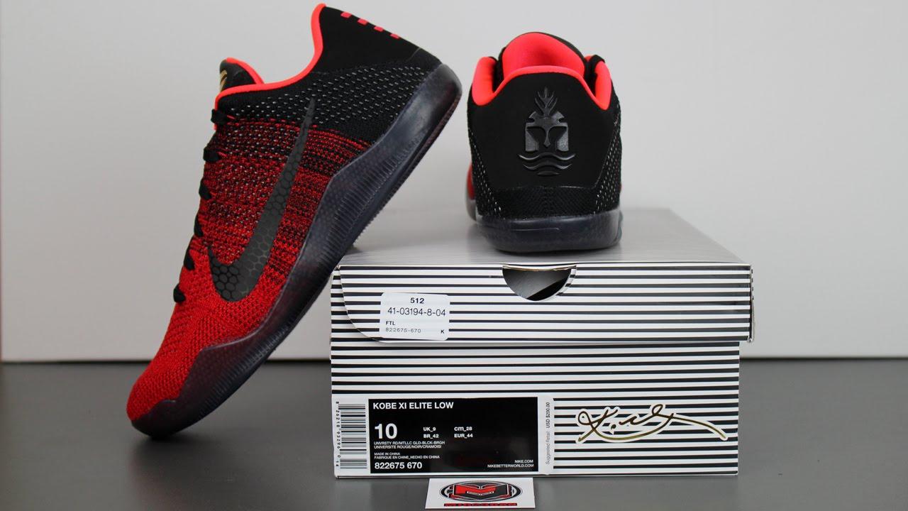 c93770558a30 The Nike Kobe 11 Elite Low