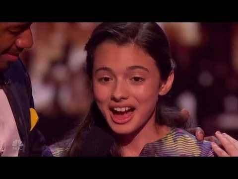 Full Segment - Laura Bretan - Pie Jesu - Semifinals America s Got Talent August 30, 2016