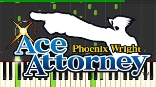 Phoenix Wright Ace Attorney - Turnabout Sisters Theme (Piano Tutorial, Synthesia)