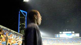 Duke Energy Building Lights Up When Panthers Score!