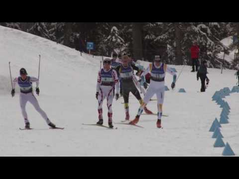 Nordic Skiing Technique - Ski Skating - One Skate Double Pole - V2