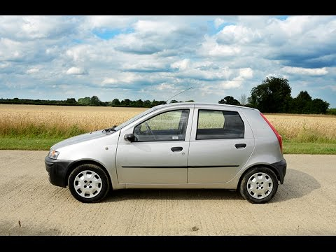 2001 fiat punto 1 2 litre video review engine youtube. Black Bedroom Furniture Sets. Home Design Ideas
