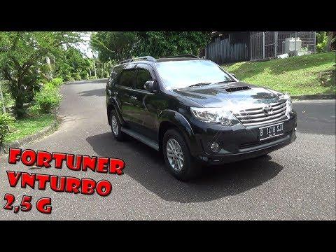 Review Toyota Fortuner G VNTurbo Tahun 2013