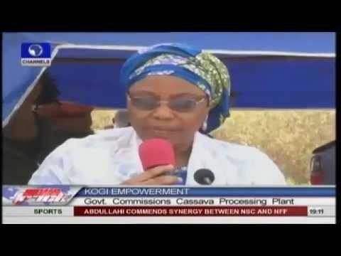 Kogi Government Commissions Cassava Processing Plant