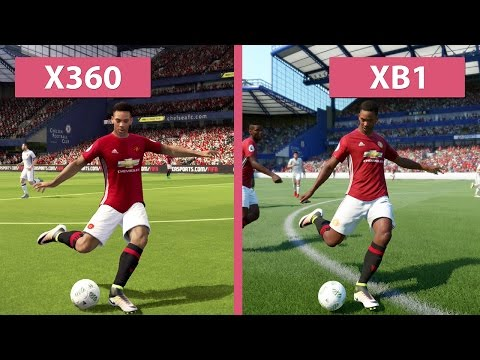 FIFA 17 Demo – Xbox 360 vs. Xbox One Graphics Comparison