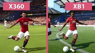 FIFA 17 Demo – Xbox 360 vs. Xbox One Graphics Comparison(, 2016-09-23T12:40:22.000Z)