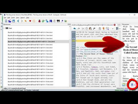 Learn How To Reformat & Putlish A Public Domain Book Using HTML Splits For TOC