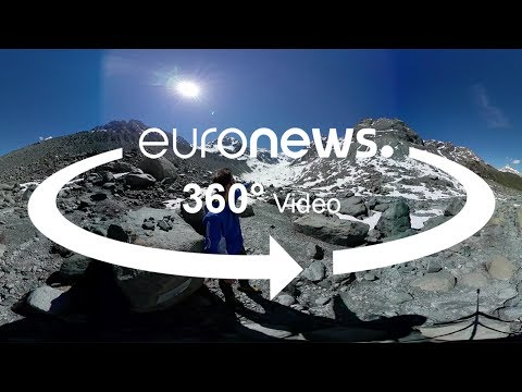 Le glacier de Ventina en Italie n