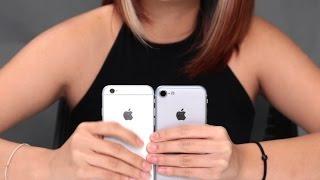 First iPhone 7 & iPhone 6 Comparison in HD