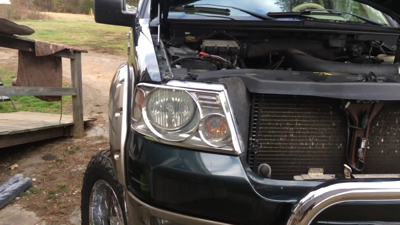 2004 Ford F-150 5 4 triton with rattle sound when driving and under load  going uphill