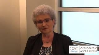OSC Patient Testimonial on Dr. Raj Sureja - Patient Ruth Hawkins