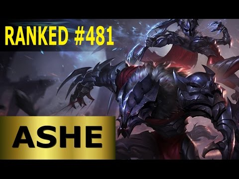 Ashe ADC - Full League of Legends Gameplay [German] Let's Play LoL - Ranked #481