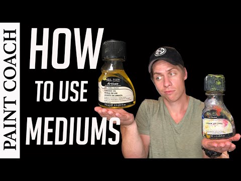 Oil Painting For Beginners | How To Use Mediums