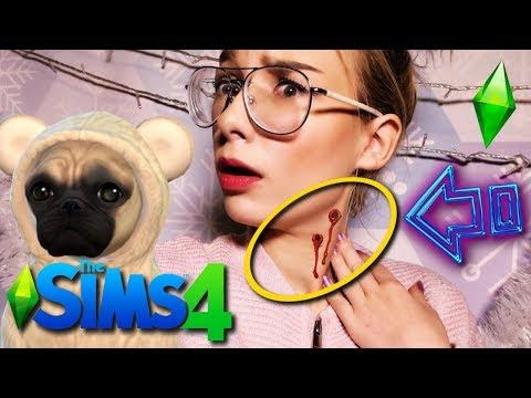W NOCY MNIE UGRYZŁO! The Sims 4 Psy i Koty