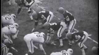 1964 Browns at Cardinals Game 13 Film Clips
