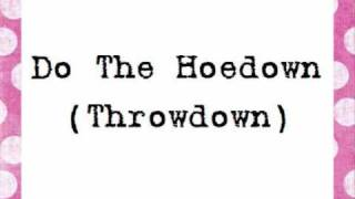 Miley Cyrus - Hoedown Throwdown (Lyrics)