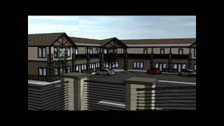 House Plans & Projects - Sunset View Promenade Commercial And Residential Design Project