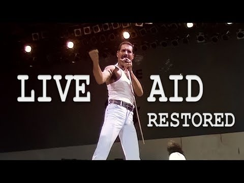 Queen - Live Aid 1985 - Definitive Restoration