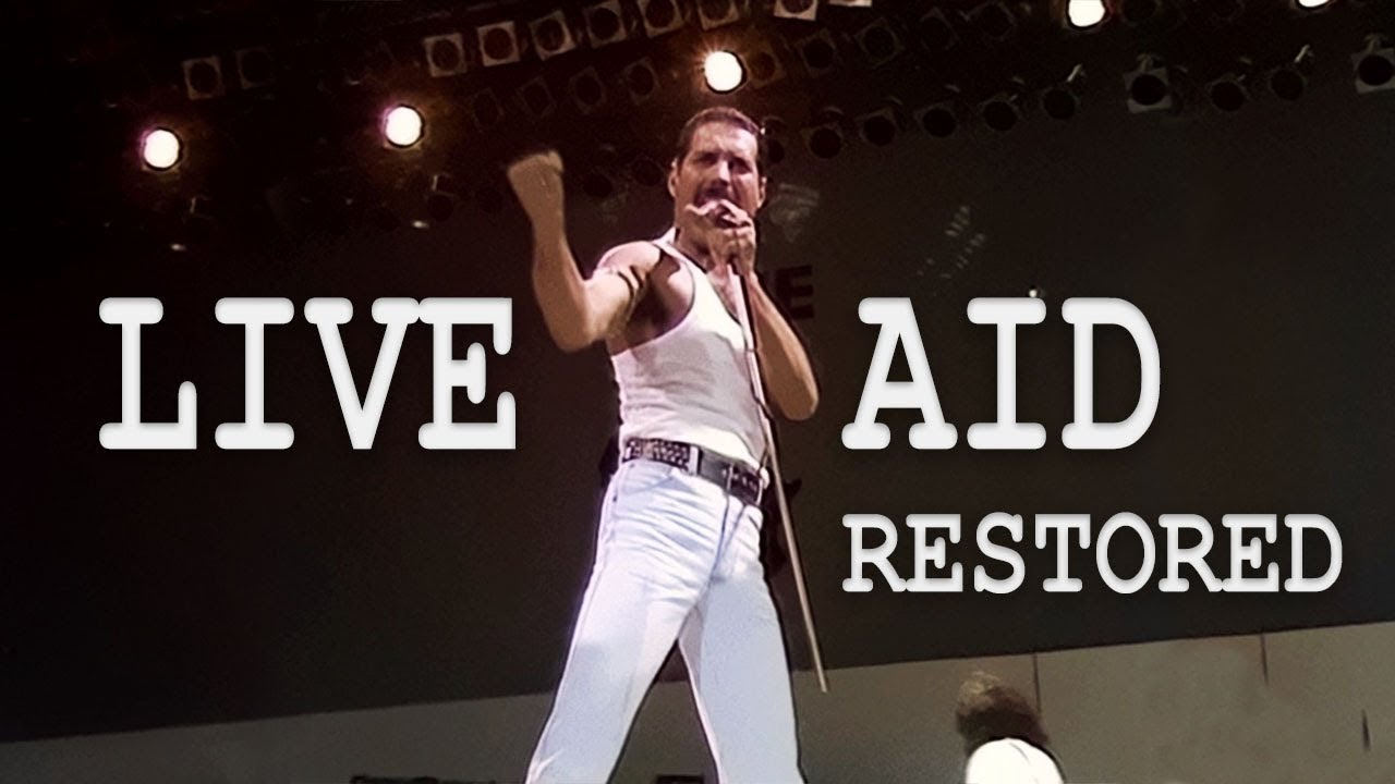 Live Aid Queen