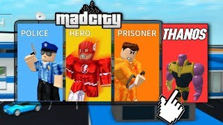 THANOS W MAD CITY! I ROBLOX #355