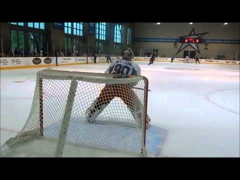 Goaltenders Elvis Merzlikins and Oscar Dansk Blue Jackets Tournament Shootout