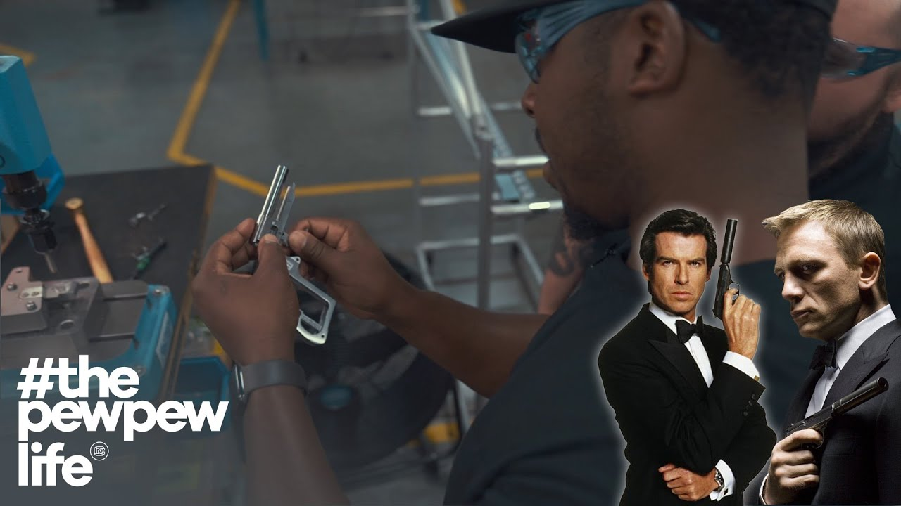 Building The James Bond Gun