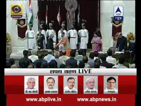 WATCH FULL: Swearing-in ceremony of PM Modi's new Ministers