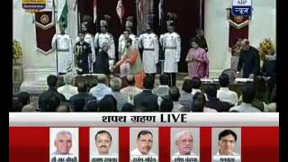 WATCH FULL: Swearing-in ceremony of PM Modi