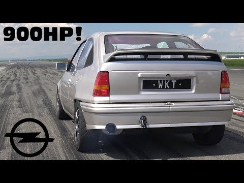 900HP OPEL KADETT WKT - The Ultimate Sleeper ??