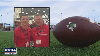 Coaches Todd and Riley Dodge - father and son - face off in state football championship