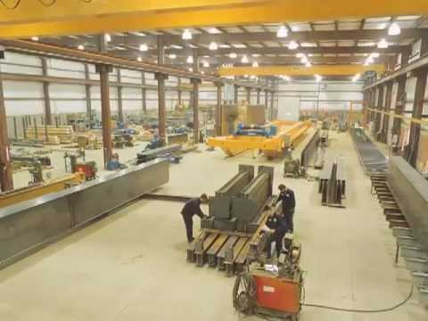 One-Source Manufacturer of Overhead Cranes and Components | EMH Inc