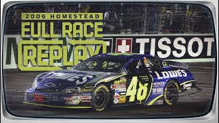 NASCAR Classic Full Race: Jimmie Johnson's first championship   2006 Homestead-Miami Speedway