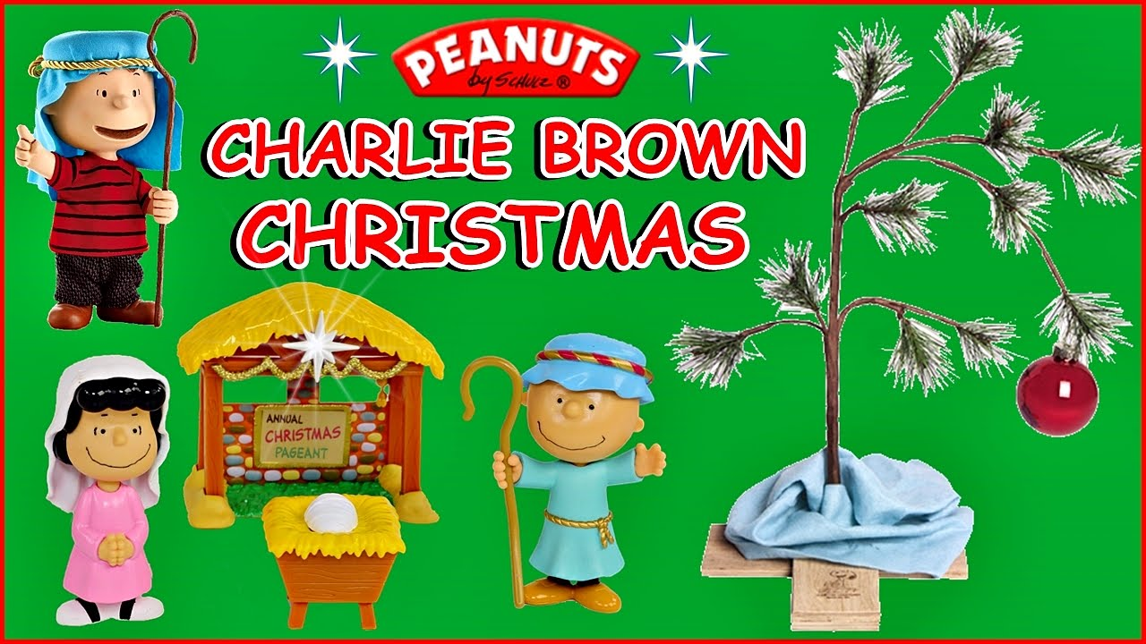 Peanuts Christmas Unboxing Episode  Opening Peanuts Nativity