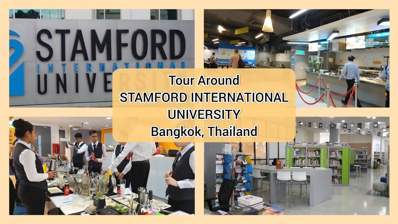 🇹🇭 Đại học ở Thái Lan ra sao? Stamford International University   Du học Thái Lan  School Tour Ep1