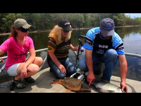 Leading Ladies Outdoors Show #1410 Bowfishing with H2O Junkies