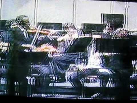 Manuel Suarez y Henryk Szeryng play Vivaldi Double Violin Concerto in D minor 2nd Mov